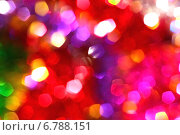 Цветной расфокусированный фон с эффектом боке. Стоковое фото, фотограф Daniela / Фотобанк Лори