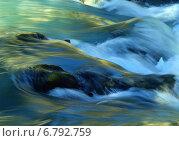 Купить «Красочные потоки воды», фото № 6792759, снято 14 сентября 2014 г. (c) александр жарников / Фотобанк Лори