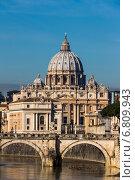 Купить «italy, rome, st. peters basilica», фото № 6809943, снято 8 декабря 2019 г. (c) Erwin Wodicka / Фотобанк Лори