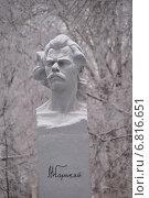 Купить «Нижегородская область, город Арзамас, памятник Максиму Горькому», фото № 6816651, снято 29 ноября 2014 г. (c) Павел Москаленко / Фотобанк Лори
