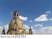Купить «Фрауэнкирхе (Церковь Богоматери) лютеранская церковь в Дрездене, Германия», фото № 6818551, снято 15 июня 2013 г. (c) Владимир Журавлев / Фотобанк Лори