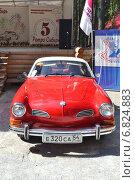 "Купить «Volkswagen Karmann-Ghia (""Фольксваген""). Парад ретроавтомобилей в музее-заповеднике «Томская писаница»», фото № 6824883, снято 16 августа 2014 г. (c) александр афанасьев / Фотобанк Лори"