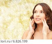 Купить «beautiful young woman face», фото № 6826199, снято 30 октября 2011 г. (c) Syda Productions / Фотобанк Лори