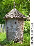 Старинный улей. Стоковое фото, фотограф Александр Романов / Фотобанк Лори