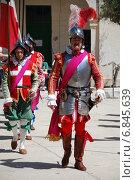 Мальта. Костюмированное представление в форте Святого Эльма в Валлетте (2012 год). Редакционное фото, фотограф Дмитрий Муромцев / Фотобанк Лори