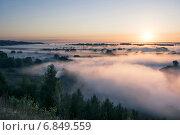 Летний рассвет. Стоковое фото, фотограф Андрей Соколов / Фотобанк Лори