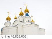 Православный храм города Миасса. Стоковое фото, фотограф Александр Симонов / Фотобанк Лори