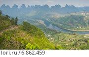 Купить «Сельский Китай, таймлапс», видеоролик № 6862459, снято 6 августа 2014 г. (c) Кирилл Трифонов / Фотобанк Лори