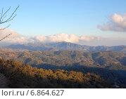 Горный пейзаж, Кипр (2012 год). Стоковое фото, фотограф Алтанова Елена / Фотобанк Лори