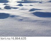 Снег переливается на солнце. Стоковое фото, фотограф Алтанова Елена / Фотобанк Лори