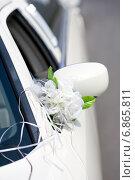 Украшение свадебного лимузина. Стоковое фото, фотограф Mariya L / Фотобанк Лори