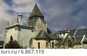 Купить «Замок Азе ле Ридо, Луара, Франция», видеоролик № 6867119, снято 5 января 2015 г. (c) Владимир Журавлев / Фотобанк Лори