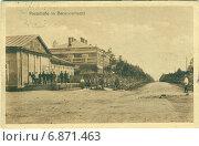Купить «Барановичи, улица Почтовая. Немецкая открытка 1916 года», иллюстрация № 6871463 (c) Татьяна Грин / Фотобанк Лори