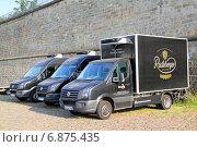 Купить «Volkswagen Crafter», фото № 6875435, снято 20 июля 2014 г. (c) Art Konovalov / Фотобанк Лори