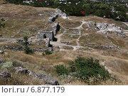 Керчь, гора Митридат Пантикапей (2012 год). Стоковое фото, фотограф Комиссаров Андрей / Фотобанк Лори