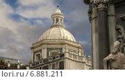 Католическая церковь, Сицилия, Италия (2015 год). Стоковое видео, видеограф Владимир Журавлев / Фотобанк Лори