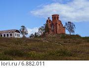 Недостроенная церковь. Стоковое фото, фотограф Синицын Юрий Альбертович / Фотобанк Лори