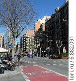 Купить «Барселона. Велосипедная дорожка», фото № 6882091, снято 25 марта 2013 г. (c) Free Wind / Фотобанк Лори