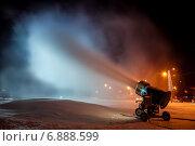 Снеговая пушка (2014 год). Редакционное фото, фотограф Денис Стадников / Фотобанк Лори