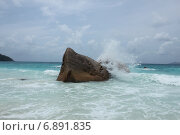Anse Lazio, Индийский океан, Сейшельские острова. Стоковое фото, фотограф Алексей Мальцев / Фотобанк Лори