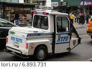 Полиция Нью-Йорка (2014 год). Редакционное фото, фотограф Алексей Мальцев / Фотобанк Лори