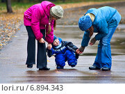 Купить «Прогулки по осеннему парку», фото № 6894343, снято 30 сентября 2006 г. (c) Дмитрий Боков / Фотобанк Лори