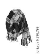 Купить «Шерстяной шарф», фото № 6896799, снято 9 января 2015 г. (c) Дмитрий Грушин / Фотобанк Лори