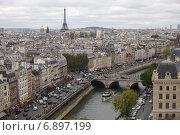 Купить «Париж. Городской пейзаж», фото № 6897199, снято 10 октября 2011 г. (c) Яна Королёва / Фотобанк Лори