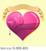 День святого Валентина. Стоковая иллюстрация, иллюстратор Штым Сергей / Фотобанк Лори