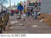Последствия норд-оста в Геленджике (2014 год). Редакционное фото, фотограф Алексей Шматков / Фотобанк Лори