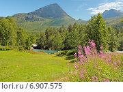 Природа Норвегии (2014 год). Стоковое фото, фотограф Анастасия Калинцева / Фотобанк Лори