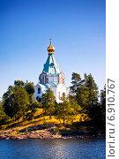 Купить «Никольский скит, Валаам», фото № 6910767, снято 13 июля 2014 г. (c) Вероника Галкина / Фотобанк Лори