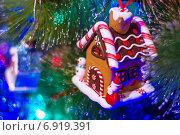 Елочная игрушка. Стоковое фото, фотограф Игорь Мухлаев / Фотобанк Лори