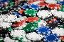 close up of casino chips background, фото № 6923451, снято 17 октября 2014 г. (c) Syda Productions / Фотобанк Лори