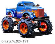 Купить «Мультяшный автомобиль», иллюстрация № 6924191 (c) Александр Володин / Фотобанк Лори