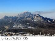 Купить «Пятигорск гора Бештау (зима)», фото № 6927735, снято 9 января 2015 г. (c) Валерий Шилов / Фотобанк Лори