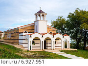 Православный храм в городе Бяла в Болгарии. Стоковое фото, фотограф Кононенко Александр / Фотобанк Лори