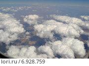 Вид из окна самолета. Стоковое фото, фотограф Ирина Кузнецова / Фотобанк Лори