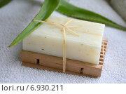Мыло натуральное. Стоковое фото, фотограф Юлия Москаленко / Фотобанк Лори