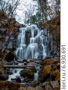 Водопад. Стоковое фото, фотограф Григорий Бледных / Фотобанк Лори