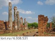 Купить «Древний храмовый комплекс Wat Phra Sri Sanphet в Аюттайе, Тайланд», фото № 6938531, снято 9 января 2015 г. (c) Natalya Sidorova / Фотобанк Лори