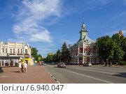 Купить «В центре Азова», фото № 6940047, снято 13 июня 2014 г. (c) Борис Панасюк / Фотобанк Лори