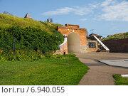 Купить «Алексеевские ворота в Азове», фото № 6940055, снято 24 июня 2014 г. (c) Борис Панасюк / Фотобанк Лори