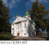 Кирилловская церковь в Киеве (2014 год). Стоковое фото, фотограф Онищенко Виктор / Фотобанк Лори