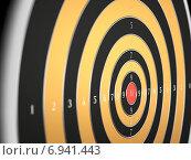 Мишень. Стоковая иллюстрация, иллюстратор Солодилов Алексей / Фотобанк Лори