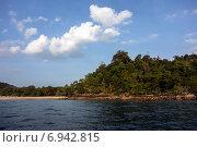 Морской берег Koh Mook, Таиланд. Стоковое фото, фотограф Nikolay Grachev / Фотобанк Лори