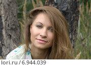 Девушка в лесу. Стоковое фото, фотограф Evhen Marienko / Фотобанк Лори