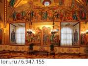 Купить «Грановитая палата, Московский Кремль», эксклюзивное фото № 6947155, снято 29 января 2015 г. (c) Алексей Гусев / Фотобанк Лори