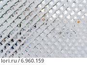 Купить «Забор из сетки-рабицы в снегу», фото № 6960159, снято 22 января 2015 г. (c) Володина Ольга / Фотобанк Лори
