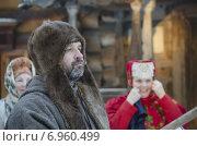Купить «Мужчина в поморской одежде», фото № 6960499, снято 22 января 2015 г. (c) Яковлев Сергей / Фотобанк Лори